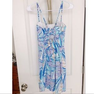 Lily Pulitzer Shelli Stretch dress, in Aboat Time.